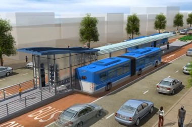 A Bus Rapid Transit system on Ashland Avenue would improve travel times and boost the reliability of public transportation, supporters say.