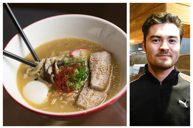 Chef Shin Thompson of Furious Spoon, opening Feb. 18.