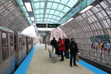 The CTA credited the opening of the Green Line Cermak-McCormick Place station with a big part of its record ridership.