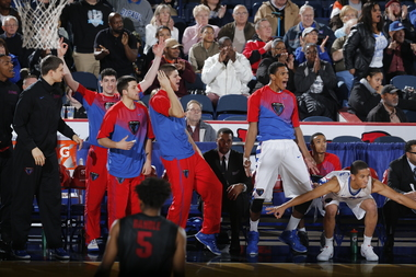 685743de0bb9 DePaul s  Bench Mob  Might Be College Basketball s Most Entertaining ...