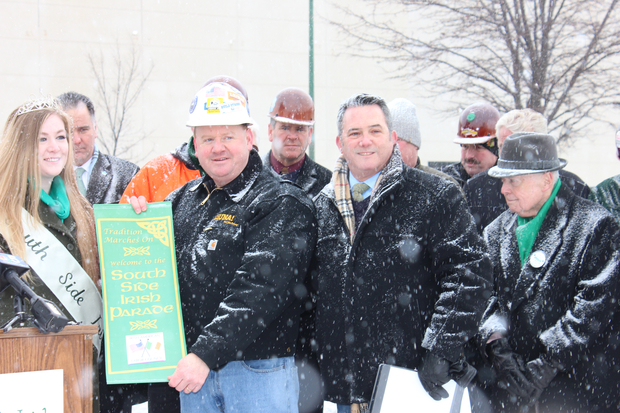 The Irish-American Labor Council was named the grand marshal of the 2015 South Side Irish St. Patrick's Day Parade on Wednesday. The parade will also honor the Chicago Police Memorial Foundation.
