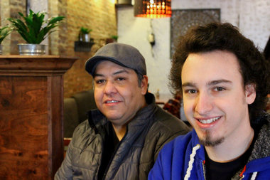 Eduardo Quintero and Philip Howard are the owners behind Irving Park's new HQ Howard Quintero restaurant, which is celebrating its grand opening Friday.