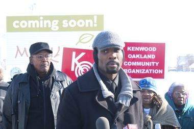 The Kenwood Oakland Community Organization called for a new public plan for replacing the Ida B. Wells homes after CHA sold off 8.2 acres of land for a Mariano's.