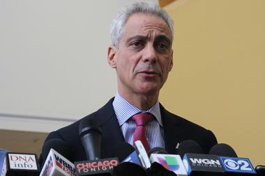 Mayor Rahm Emanuel is