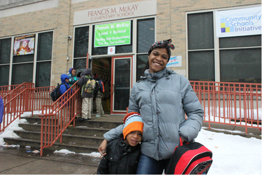 """I don't think it's smart to vaccinate kids,"" said Naphtalia Murdock, parent of Keishawn, her boy in kindergarten at McKay Elementary School. ""I wasn't vaccinated as child, and I'm fine."""