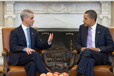 President Obama supports Mayor Rahm Emanuel, but that doesn't mean he'll be hurt by a Chicago runoff.