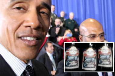After hearing about a special one-day-only brew, President Barack Obama's Secret Service detail ordered four cases for Air Force One.