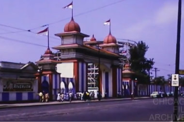 A 1950s home movie shot at the long-gone Riverview Amusement Park, and uploaded to YouTube this week, shows some of the park's fun — and slightly terrifying-looking — attractions.