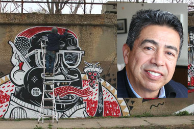 "Ald. Danny Solis (25th) explains the ""bureaucratic snafu"" that kept mural artists from being paid."