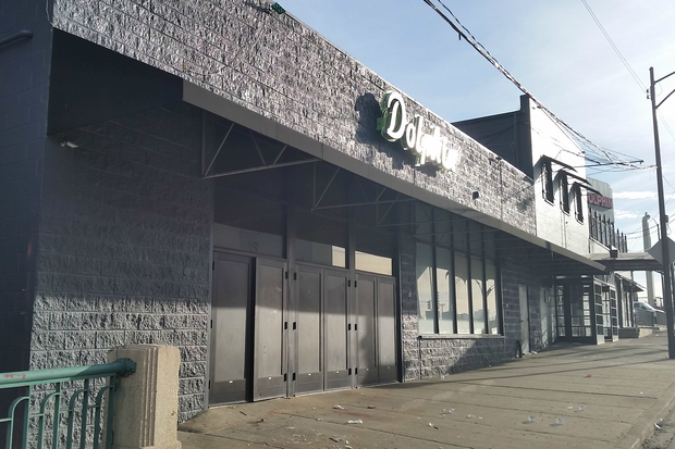 Two men were killed early Monday morning after a shooting outside the Dolphin club, 2200 N. Ashland Ave.