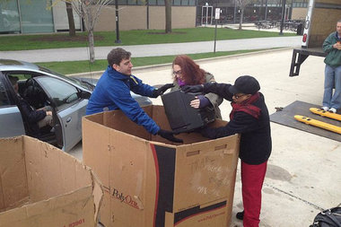 There are a couple of events for electronics recycling this weekend in Lincoln Park and the Gold Coast.