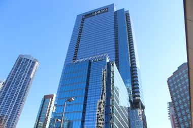 The New Loews Chicago Hotel 455 N Park Drive Opened Monday Morning