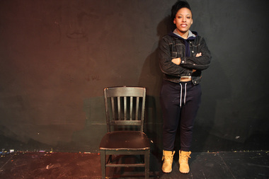 Lawren Carter, 17, won first place in Chicago's qualifier for the August Wilson Monologue Competition.