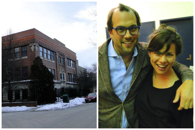 New owners of the former Jewish orphanage at 1239 N. Wood St.