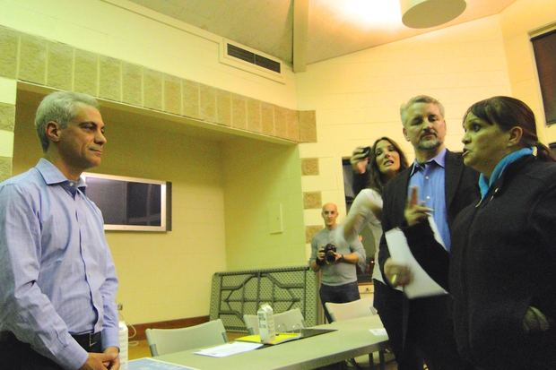 Rahm Confronted On Mental Health Clinic Closures During Wicker Park