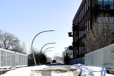 A stretch of the Bloomingdale Trail in Bucktown.
