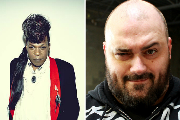 Gay bounce music artist Big Freedia (l.) was booked by Three Floyds owner Nick Floyd (r.)  to perform at the annual Dark Lord Day festival as part of a protest of Indiana's controversial Freedom of Religion Restoration Act, which critics say is