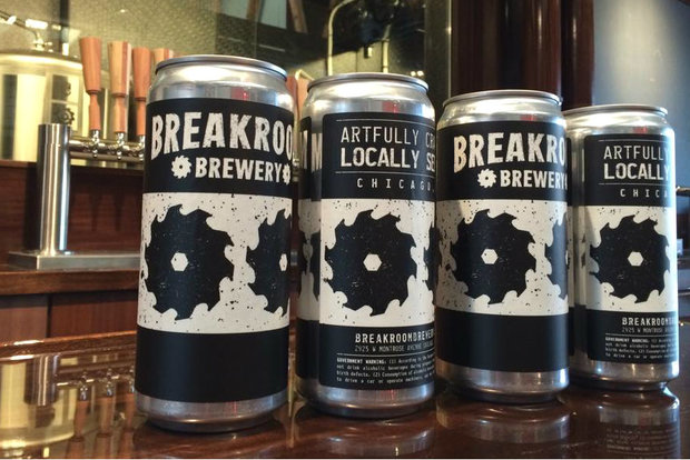 BreakRoom is the second brewery in Chicago and one of only a handful in the country to adopt the crowler format.