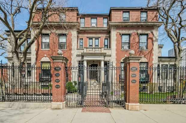For sale buena park mansion built in 1917 uptown for Mansion in chicago for sale