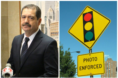 Citizens to Abolish Red Light Cameras endorsed Chuy Garcia for mayor.