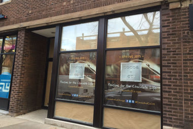 Cocoa + Co. is slated to open in early May at 1651 N. Wells St.