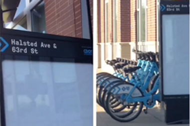 Divvy bikes are now available in Englewood on 63rd and Halsted.