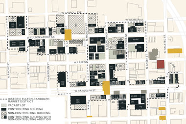 If the plan to create a historic district along Fulton and Randolph is approved, 88 area properties would be designated as landmarks. Another 56 properties would be considered