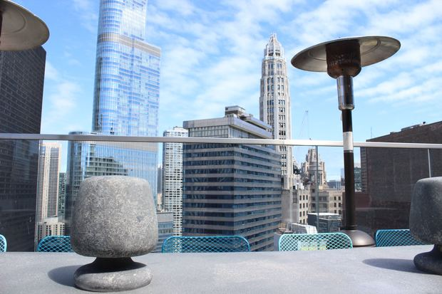 Check out this first look at the Cerise rooftop lounge opening Wednesday atop the Virgin Hotel, 203 N. Wabash Ave.