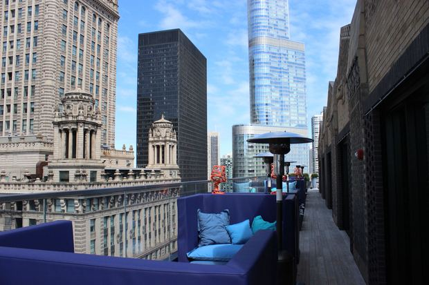 Check Out Cerise The Virgin Hotel S New Rooftop Lounge