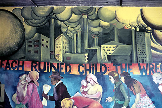 Artist to restore her 43 year old mural one of 1st by a for Chicago mural group