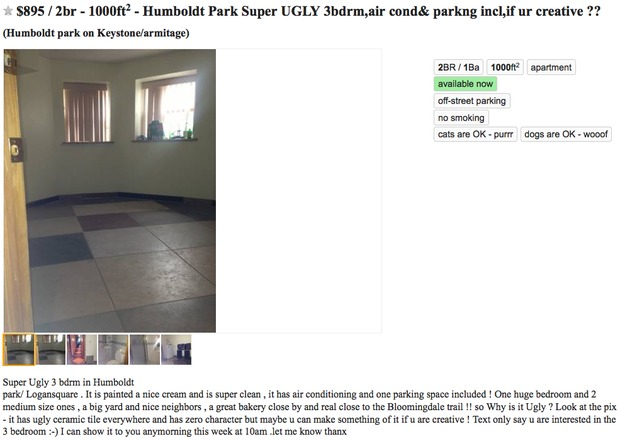 This Craigslist Apartment Ad is Refreshingly Honest ...