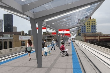 The CTA hopes to begin construction in 2017.