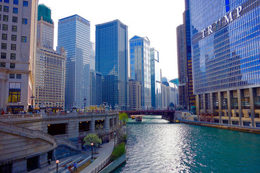 Chicago's Riverwalk received four out of five stars on the popular review site.