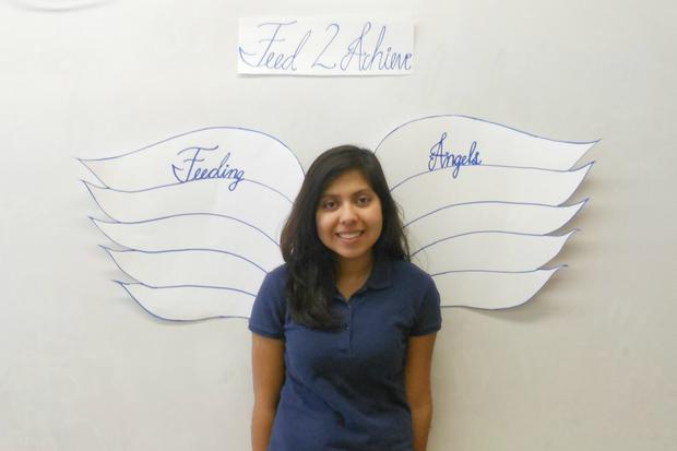 George Washington High School Angels Win 10000 for Food Banks