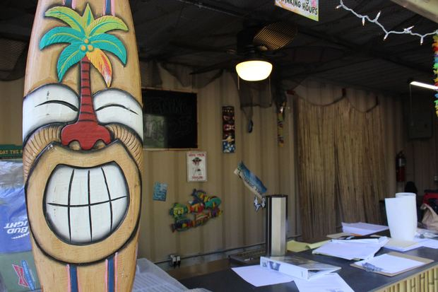 Take a sneak peek at Island Party Hut, a new tiki bar opening on the Chicago Riverwalk.