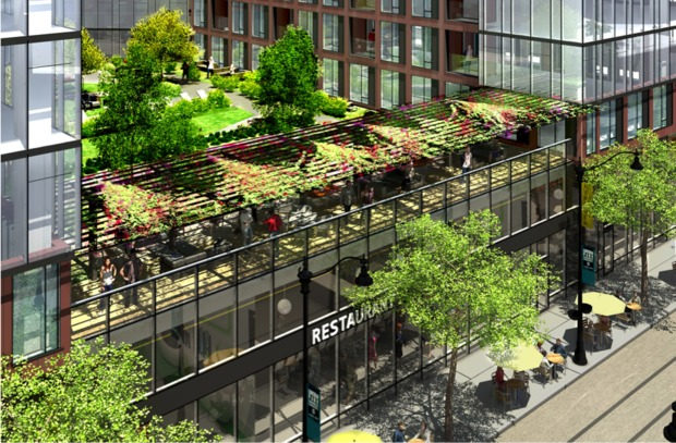 A Rendering Of The Proposed Lincoln Centre Development That Was Presented To Community Tuesday Night