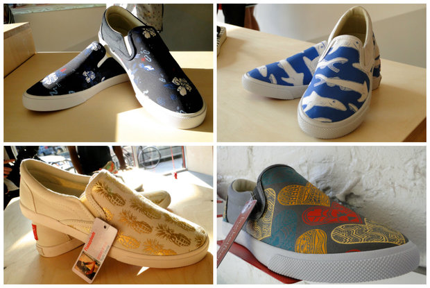 BucketFeet shoes styles.