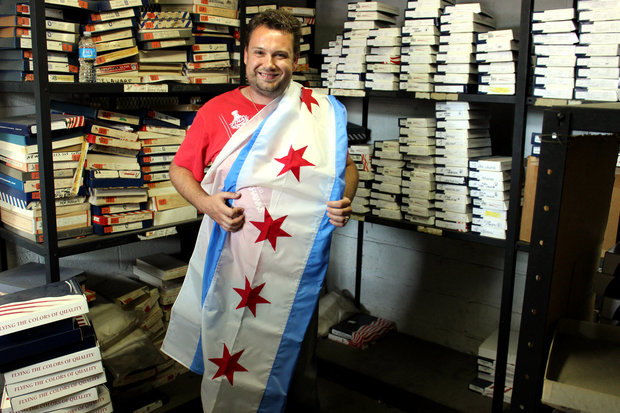 WGN Flag and Decorating Co. owner Carl