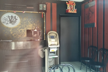 Chop Chop Chinaman, 3343 N. Halsted St., has remained dark for the past week, with the ATM safe apparently removed.
