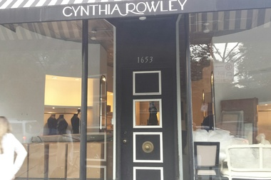 Cynthia Riley boutique is moving out of 1653 N. Damen Ave.