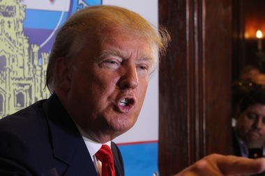 Donald Trump insisted he's a popular presidential candidate because