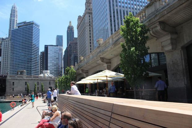 Riverwalk Chicago Map.What You Can Eat Drink And Do On The Chicago Riverwalk This Summer