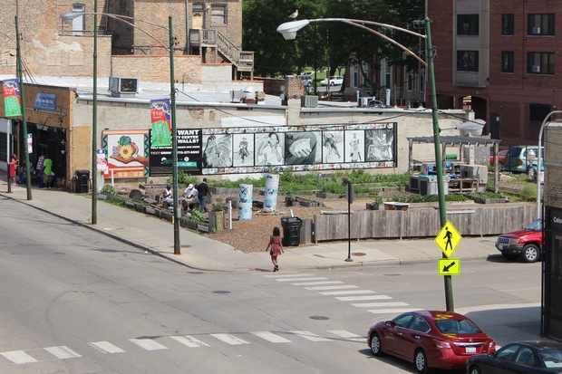 The Bronzeville Community Garden is at the center of development in the area, now including Bronzeville Cookin'.