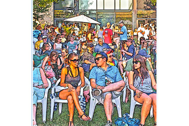 Live Music Mondays have returned to the Beverly Arts Center. The concert series is held throughout the summer in the courtyard at 2407 W. 111th St.
