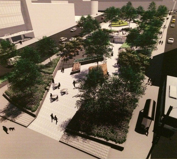 Streeterville Would Get A $3.5 Million Park As Part Of 45