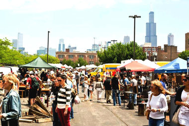 The Randolph Street Market will bring more than 250 vendors to the West Loop this weekend.