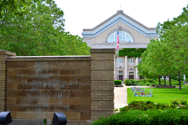 Senn High School, 5900 N. Glenwood Ave., in Edgewater.
