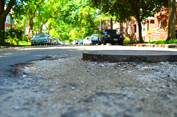 Ridge Avenue, which divides West Ridge and Rogers Park, is set to be repaved starting next week.