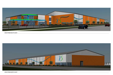 The new facility will have 12 indoor tennis courts.