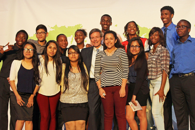 Teens from across Chicago presented their solutions to combat violence in their neighborhoods at an event on June 4, 2015, held at the Museum of Science and Industry.